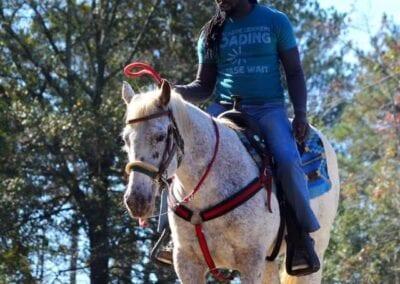 Jadon Relaford on Horse